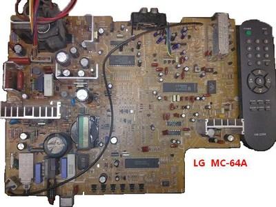 Схема телевизионного шасси LG