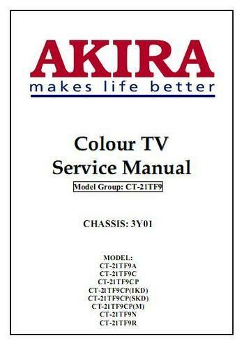 Схема телевизора AKIRA