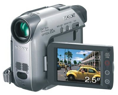 Схема видеокамеры SONY